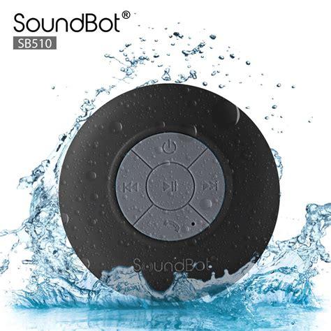 Best Bluetooth Shower Speaker by Soundbot Bluetooth Shower Speaker On Sale