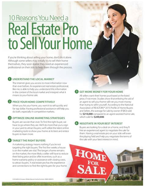 how to be a realtor 10 reasons you need a real estate pro to sell your home