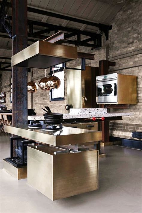 industrial kitchen designs applied with fashionable decor the kitchen designer