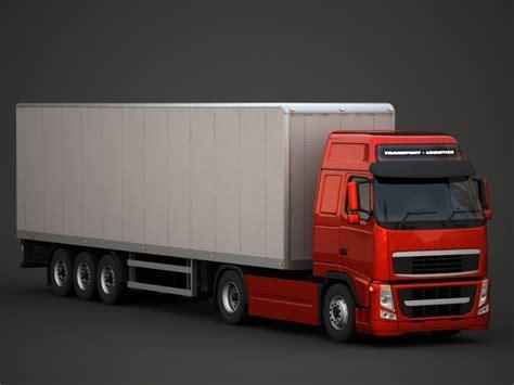 volvo semi truck models fh semi truck obj