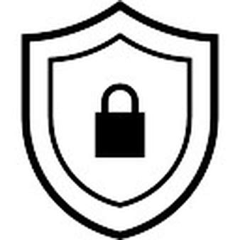 Shields Lock In by Shield With Lock Icons Free