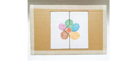 membuat rumah sederhana dari kardus bekas edisi edukasi puzzle dari kardus