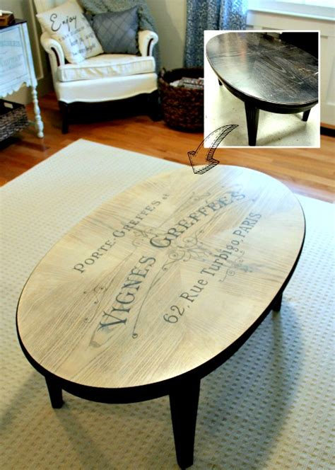 diy coffee table makeover reader feature the graphics