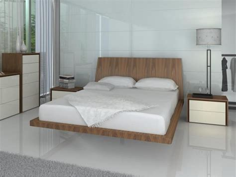 Interesting Bed Frames Furniture Cool Floating Bed Frame For Size And Glossy White Inside Various Benefits Of