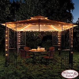 gazebo light fixtures best 25 gazebo lighting ideas on