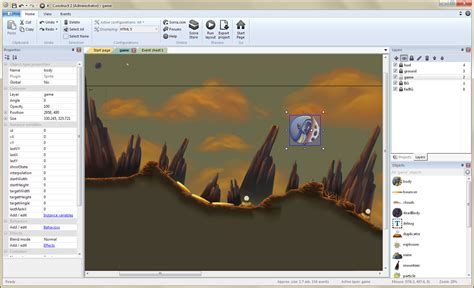 construct 2 jump and run tutorial make your own 2d games with construct 2