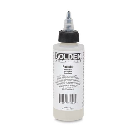acrylic painting retarder golden acrylic retarder artistwarehouseonline