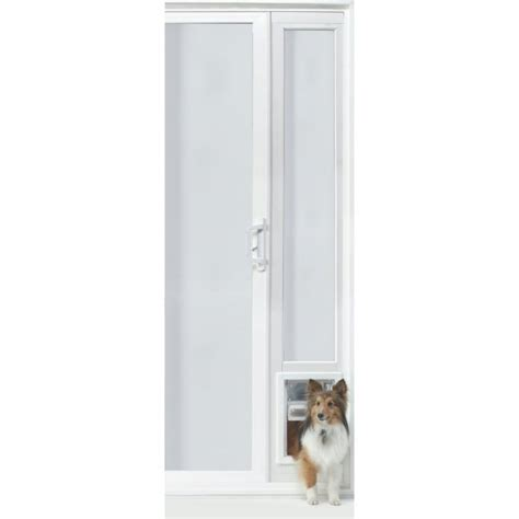 Ideal Patio Pet Door Ideal Pet Vip Vinyl Insulated Pet Patio Door Medium 92 3 4 To 94 1 2 Inches