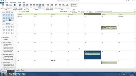 sharepoint 2013 meeting workspace template meeting in outlook sync to sharepoint 2013 with workspace