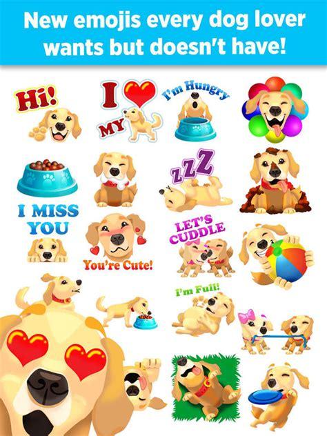 golden retriever emoji goldenmoji golden retriever emojis apprecs