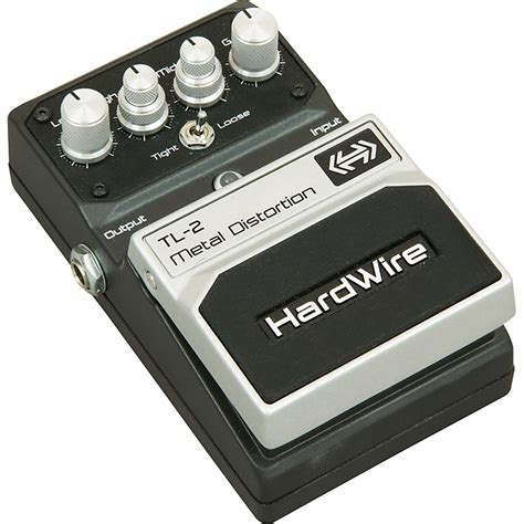 Harga Efek Gitar Metal End digitech hardwire series tl 2 metal distortion guitar