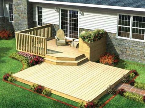 Outdoor Find The Right House Deck Plans With Minimized Design Find The Right House