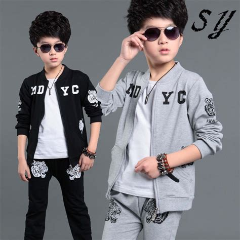 2015 teen boy fashion 2015 fashion autumn spring teenage boy clothing sets