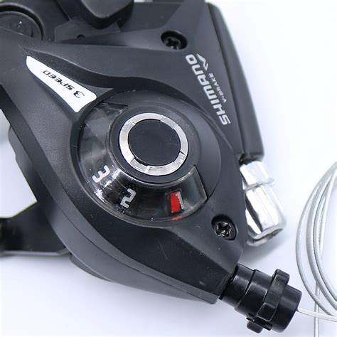 Shifter Shimano Ef51 Dengan Handle Brake 3 X 7 Speed shimano st ef51 set 3 x 7 shifter brake lever combo 21 speed black v brake ebay