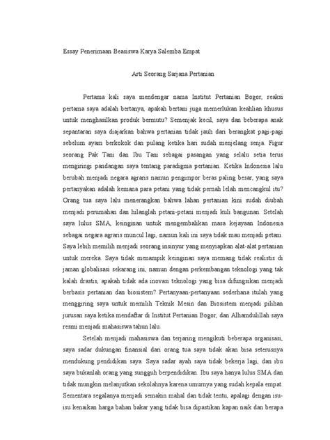 bio essay adalah contoh essay beasiswa
