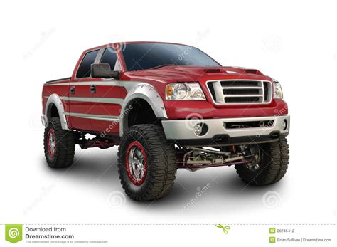 truck ford red the gallery for gt lifted red ford trucks
