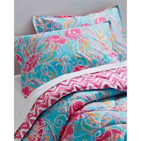 lilly pulitzer 174 resort chic comforter and from garnet hill