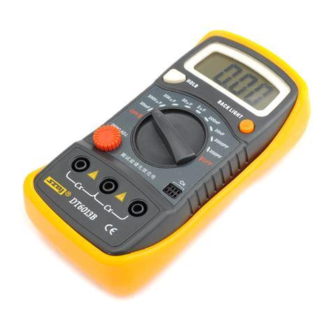 measure capacitor with multimeter capacitance measuring tool dt6013b meter digital multimeter pa 8 ebay