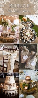 country wedding ideas top 20 country rustic lace and burlap wedding ideas including invitations and favors