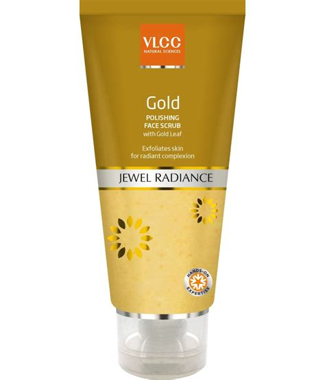 Scrub Gold vlcc gold polishing scrub 80 g buy vlcc gold