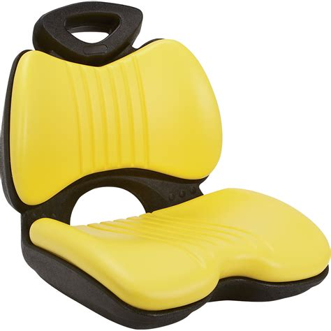 garden tractor seat cushion k m comfort formed lawn garden tractor seat yellow