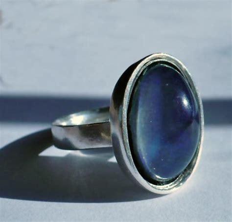 vintage sterling silver mood rings vintage sterling