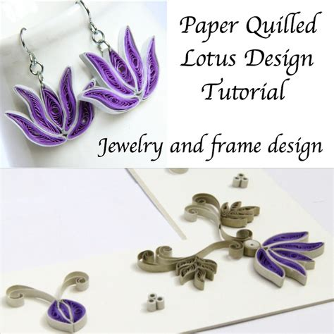 paper quilled flower earrings tutorial 17 best images about quilled jewelry on pinterest