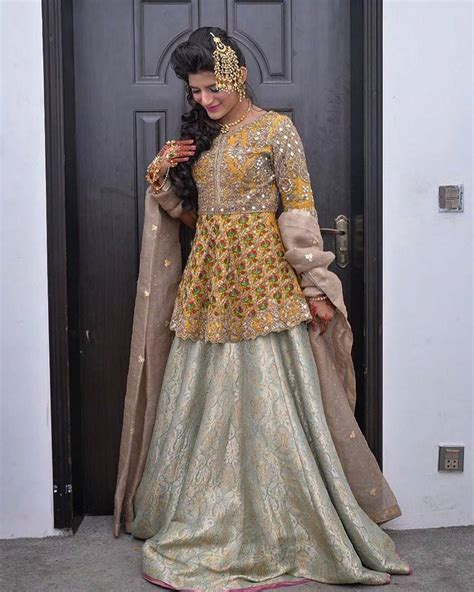 Latest Pakistani Bridal Dresses 2018 For Girls   StyleGlow.com