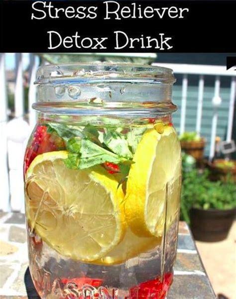 Essential Detox Drink by Stress Reliever Detox Drink Recipe Drinks