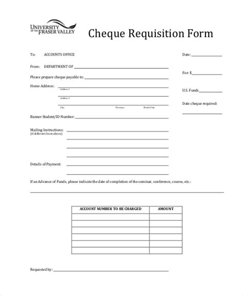 cheque request form template sle requisition form 11 free documents in doc pdf