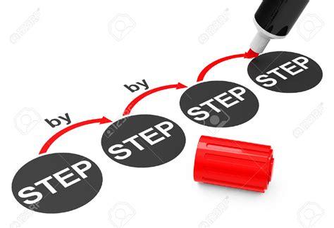 step by step step by step clipart clipground