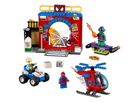 Mainan Anak Lego Junior 10687 spider hideout 10687 juniors lego shop