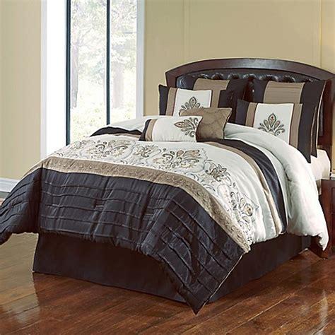 black and gold bed set jacob 8 piece comforter set in black gold bed bath beyond