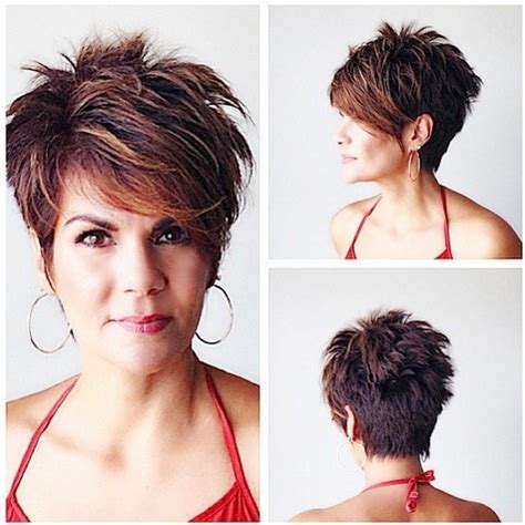 wedge with choppy layers hairstyle 16 fabulous short hairstyles for long face 2015 women