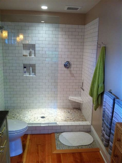 Doorless Shower Small Bathroom Stunning Bathroom Design And Ideas For Your House Doorless Walk In Shower Ideas With