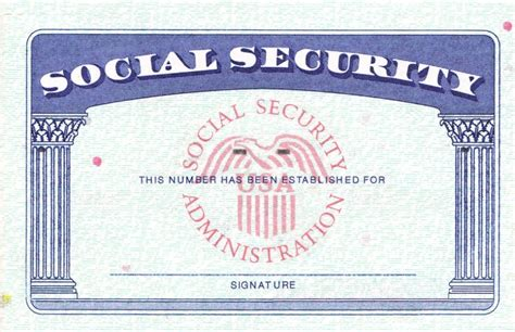 editable social security card template blank social security card template business template