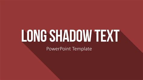 Powerpoint Vorlagen Flat Design Shadow Text In Powerpoint Pr 228 Sentieren Auf Top Niveau Presentationload