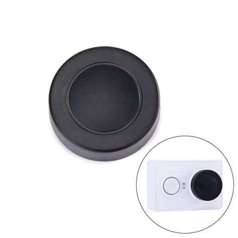 Lens Protection For Xiaomi Yi A223 Black 1 lens cover lens cap for xiaomi yi sport
