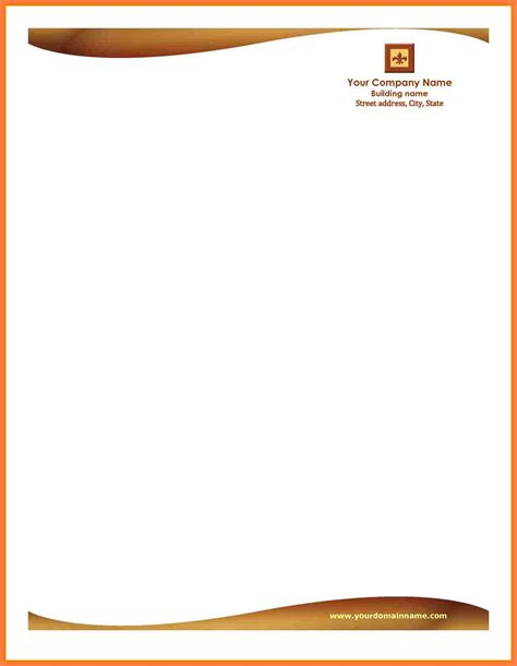 5 download letterhead templates company letterhead