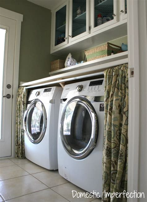 top 25 ideas about washer dryer cover up on pinterest hidden laundry washers and plugs 25 small laundry room ideas home stories a to z