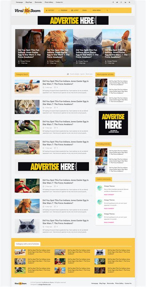 themes wordpress viral viral social sharing wordpress themes