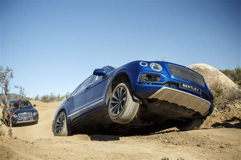 offroading in the bentley suv that costs 12 hondas the verge