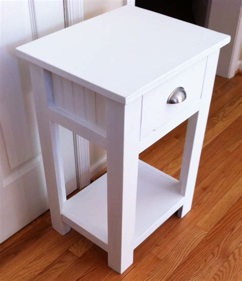 white night stands narrow bedside table modern narrow
