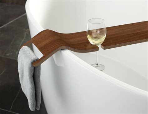 bathtub caddy wood tombolo from victoria albert