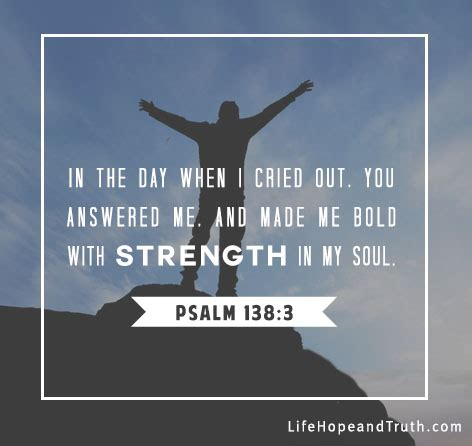 7 encouraging bible verses about god s strength
