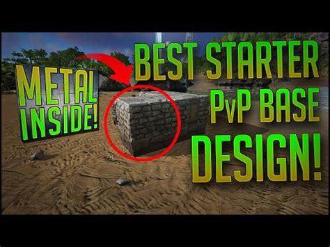 ark general pvp base design and building tips (ps4, xbox