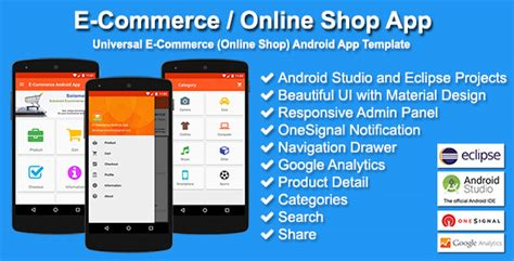 ecommerce templates for android e commerce online shop app by solodroid codecanyon