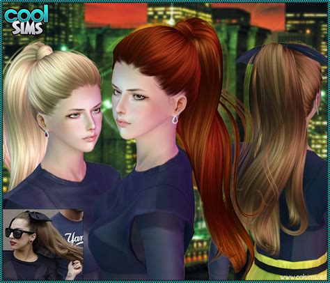 sims 3 high ponytail high ponytail sims 3 custom content by coolsims the sims