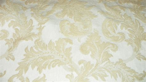 Leaf Upholstery Fabric by And Beige Leaf Print Damask Upholstery Fabric 1 Yard