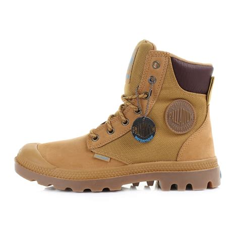 palladium boots mens womens palladium pa sport cuff wpn gold mid